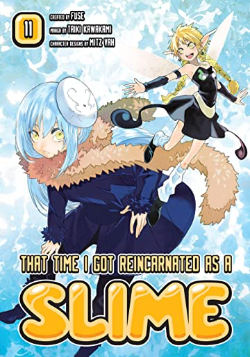 That Time I Got Reincarnated As A Slime Vol. 11