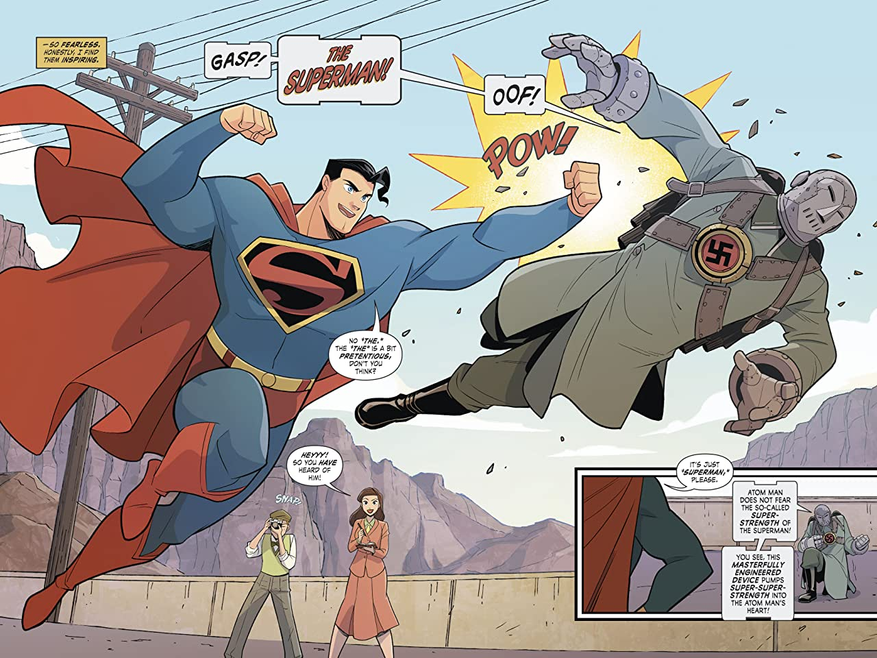 Superman Smashes the Klan (2019-) #1