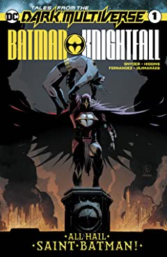 Tales from the Dark Multiverse (2019-) #1: Batman Knightfall