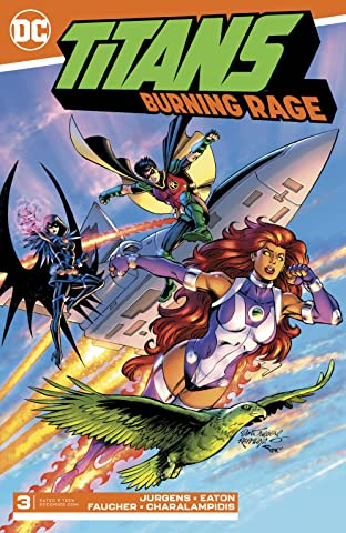 Titans: Burning Rage (2019-) #3
