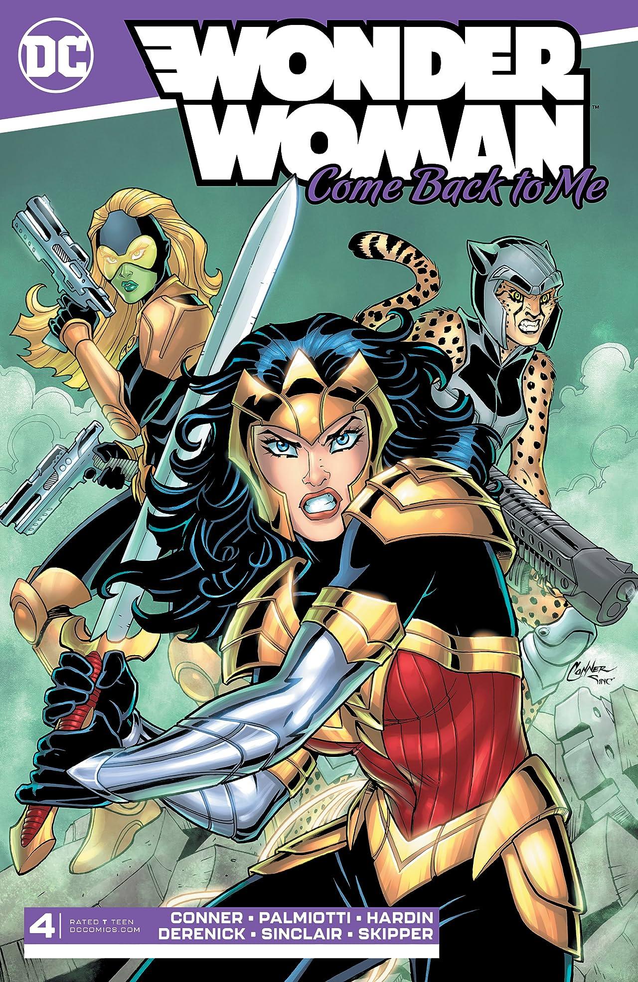 Wonder Woman: Come Back to Me No.4