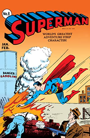 Superman (1939-2011) No.8