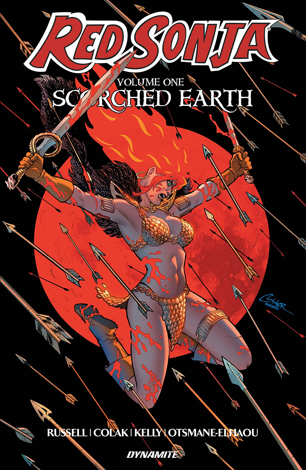 Red Sonja (2019-2021) Vol. 1: Scorched Earth