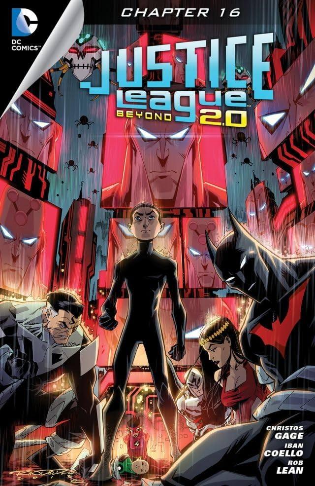Justice League Beyond 2.0 (2013-2014) #16