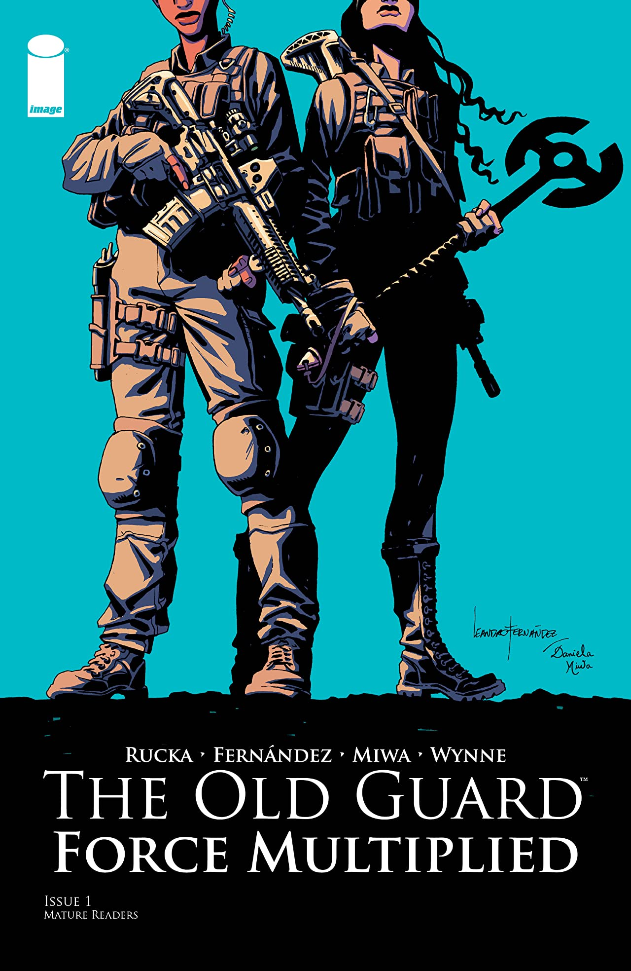 The Old Guard: Force Multiplied No.1