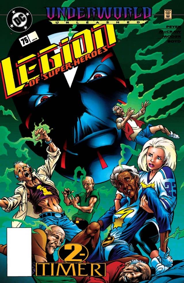 Legion of Super-Heroes (1989-2000) #75