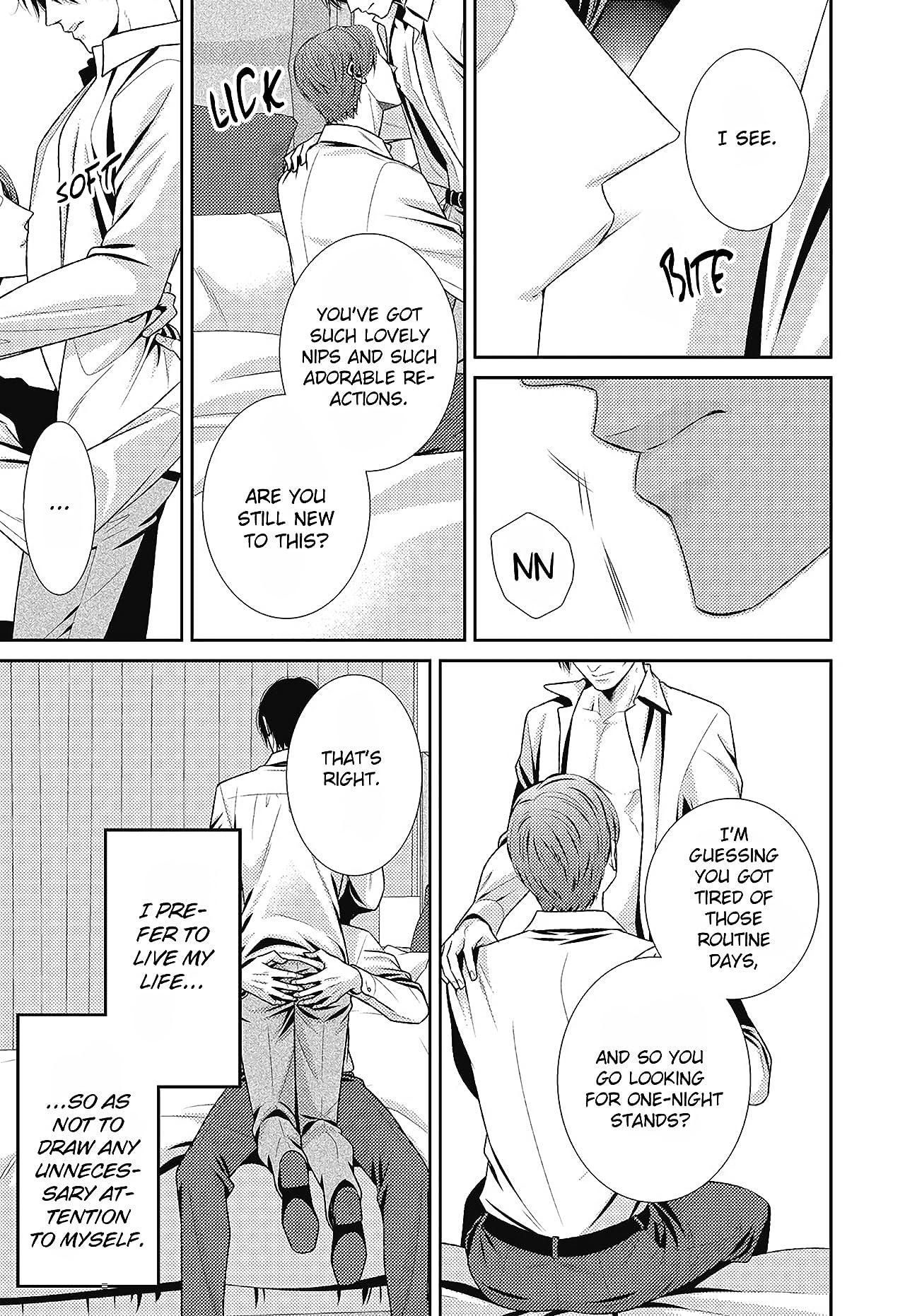 It Begins with Goodbye (Yaoi / BL Manga) Tome 1