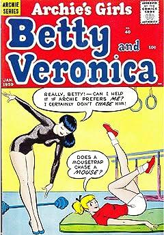 Archie's Girls Betty & Veronica #40