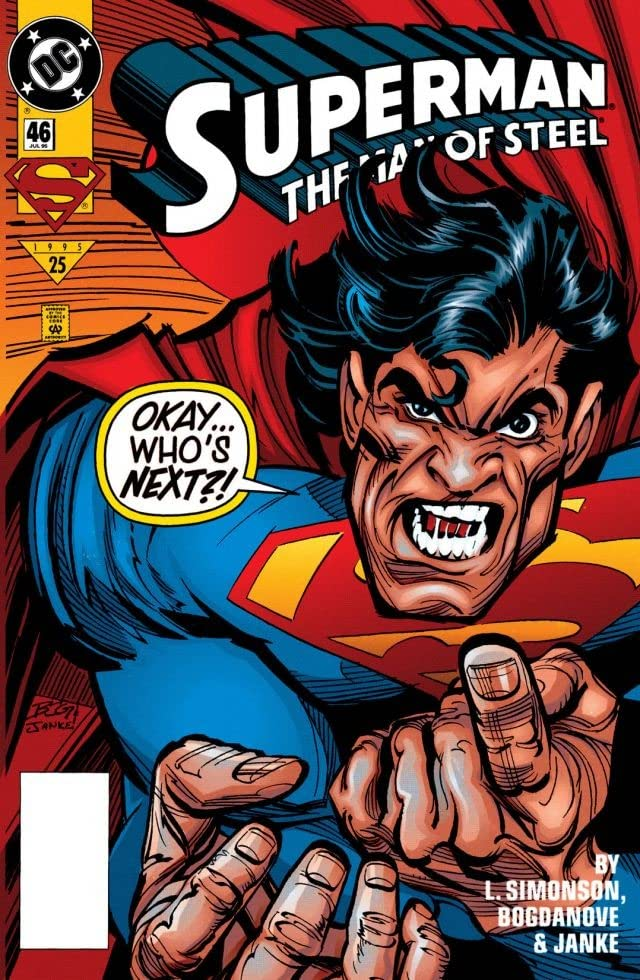 Superman: The Man of Steel (1991-2003) #46