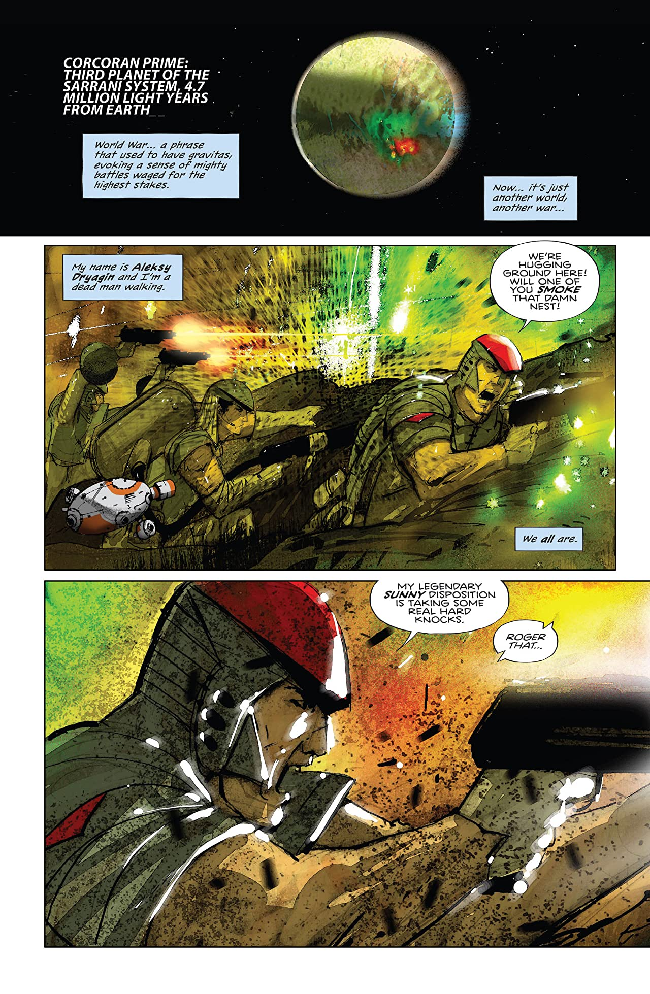 To The Death #1: Another World, Another War