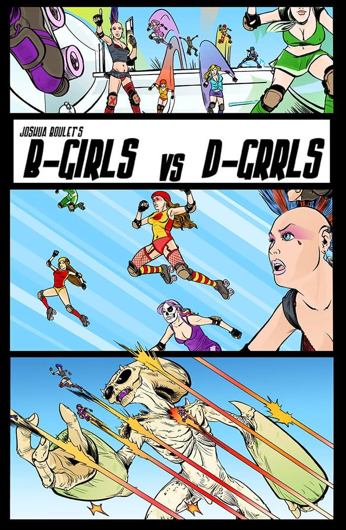 B-Girl VS D-GRRL #1