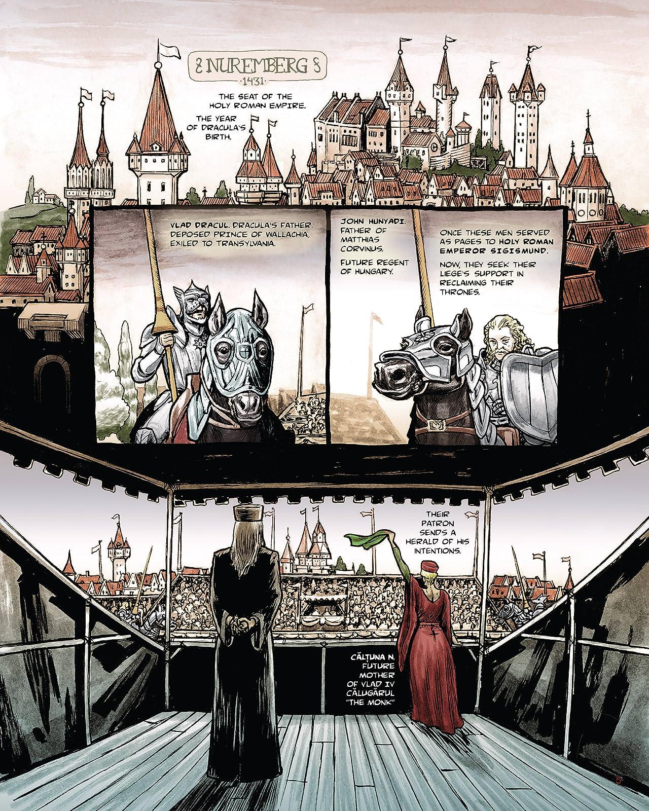 Dracula: Son of the Dragon (comiXology Originals)