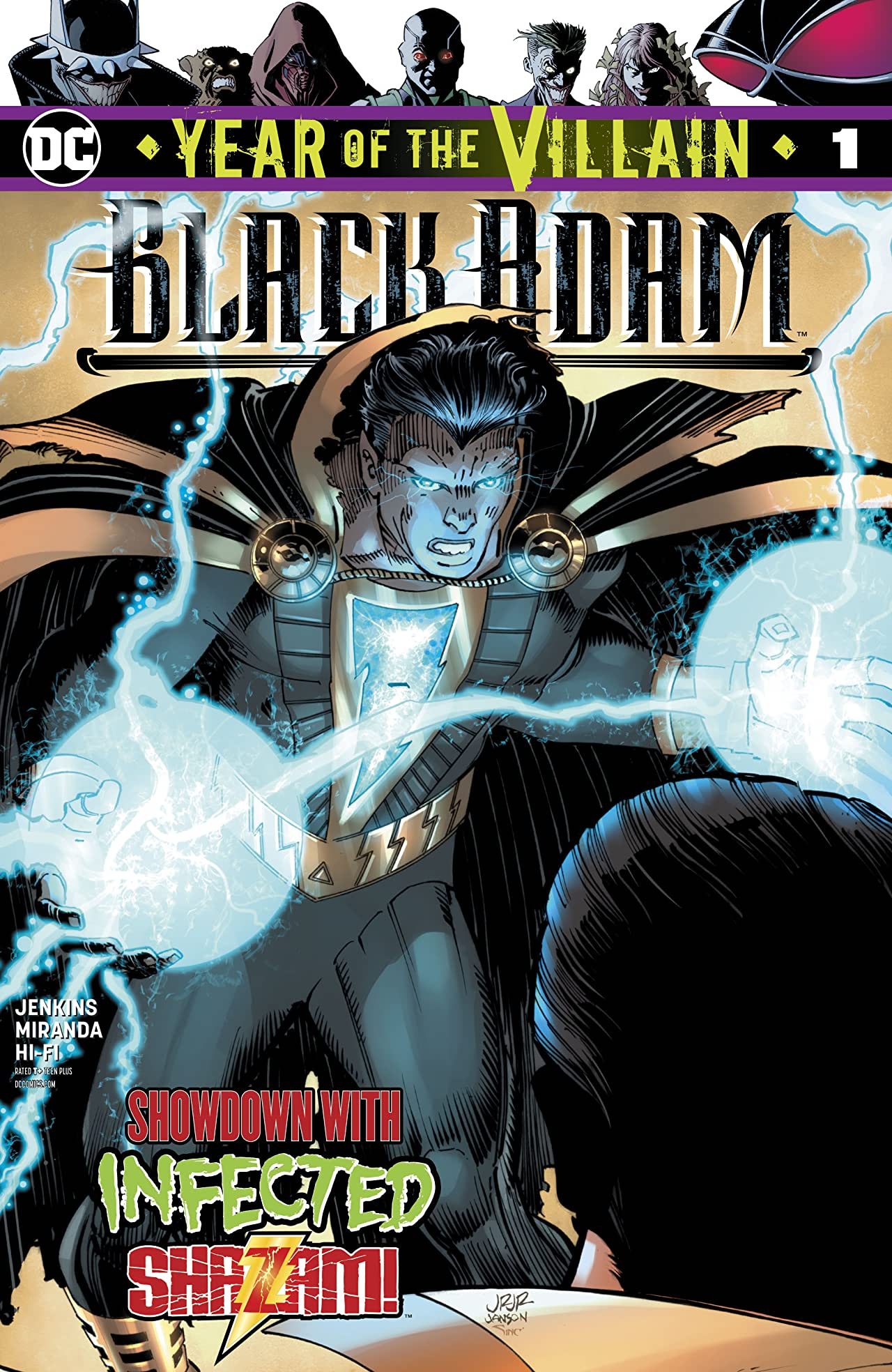 Black Adam: Year of the Villain (2019-) #1