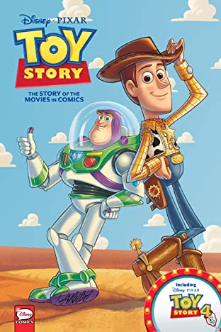 Disney•PIXAR Toy Story 1-4: The Story of the Movies in Comics