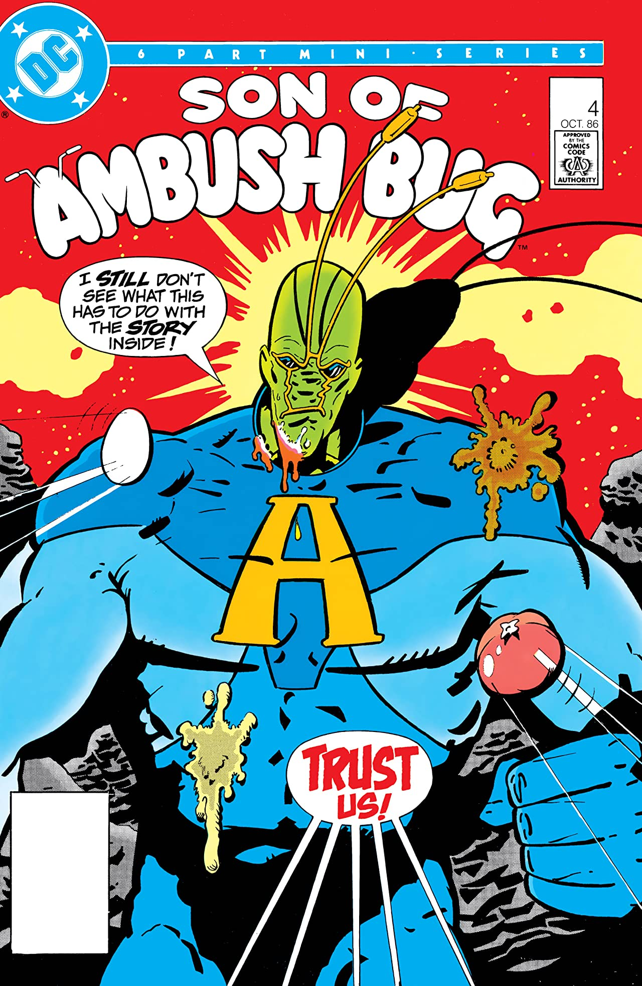 Son of Ambush Bug (1986) #4