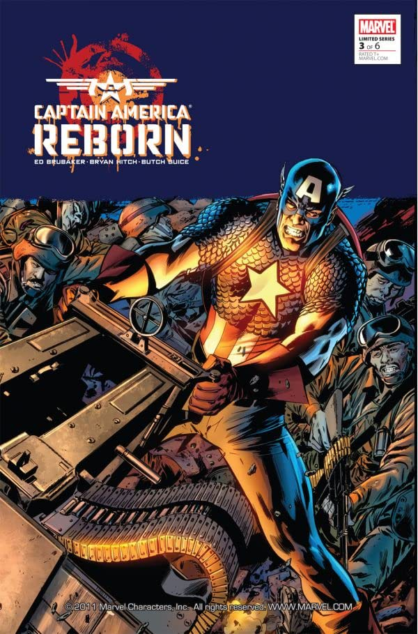 Captain America: Reborn #3 (of 6)