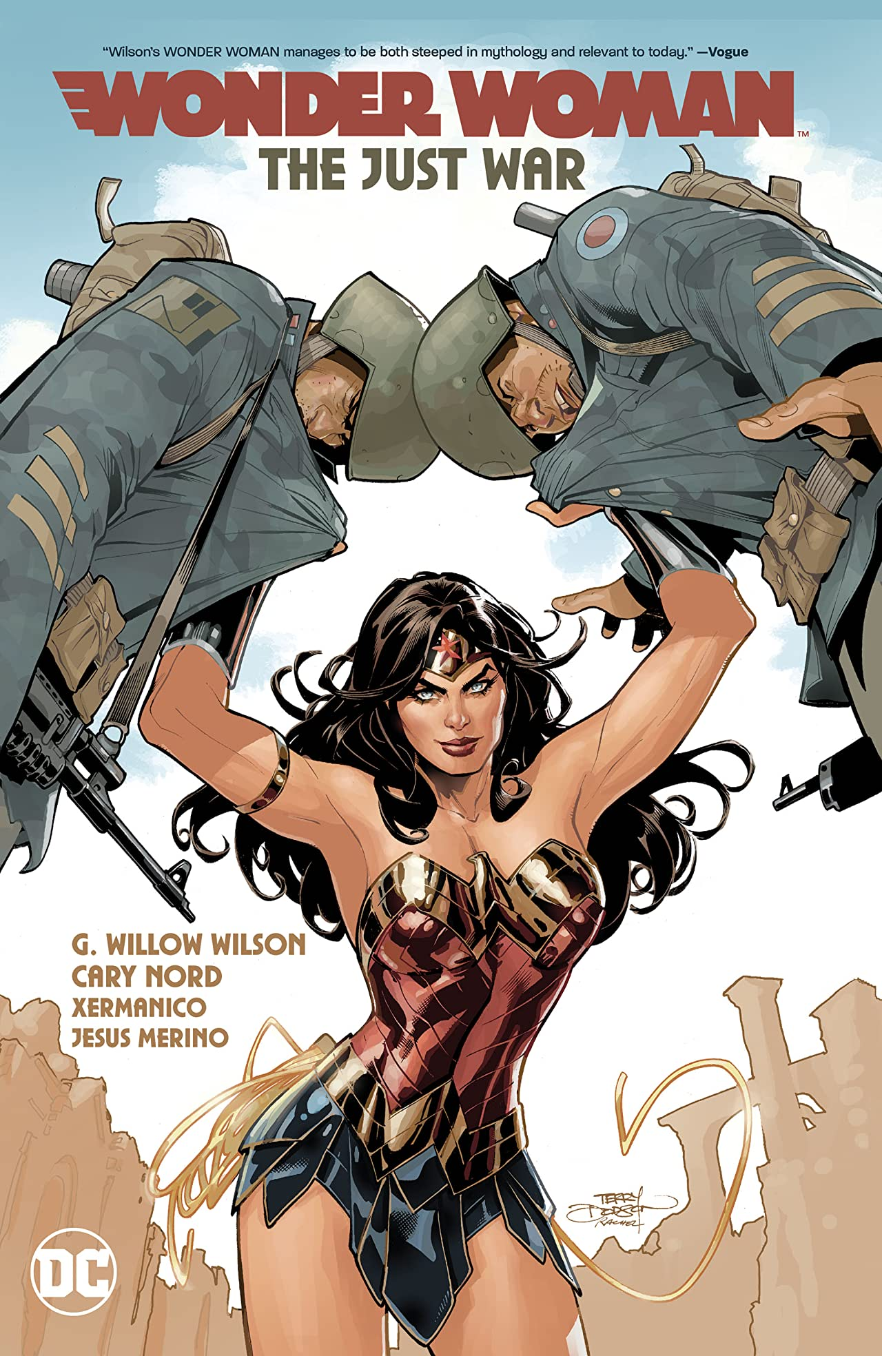 Wonder Woman (2016-) Vol. 1: The Just War