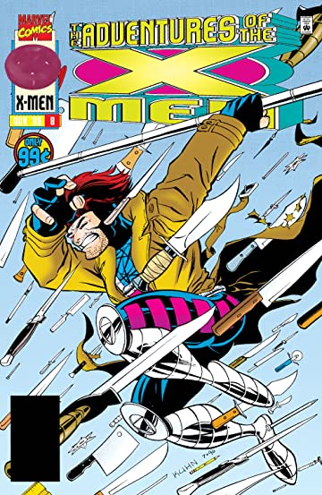 Adventures Of The X-Men (1996-1997) #8