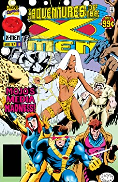 Adventures Of The X-Men (1996-1997) #10