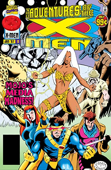 Adventures Of The X-Men (1996-1997) #10