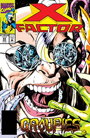 X-Factor (1986-1998) No.93