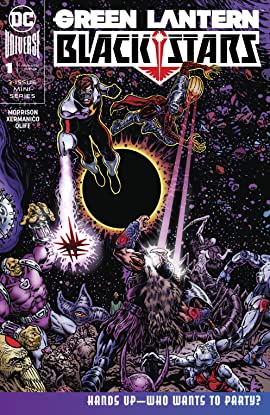 The Green Lantern: Blackstars (2019-) #1