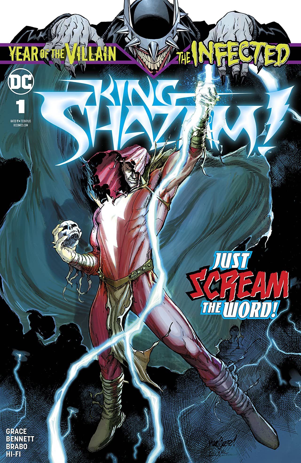 The Infected: King Shazam! (2019-) #1