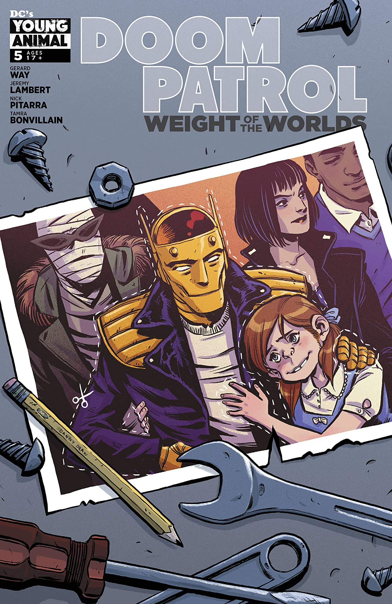Doom Patrol: Weight of the Worlds (2019-) No.5