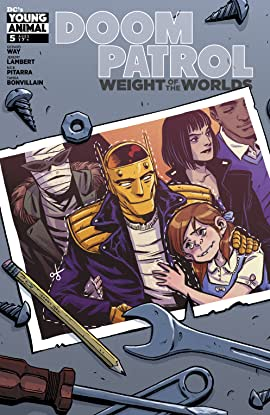 Doom Patrol: Weight of the Worlds (2019-) #5