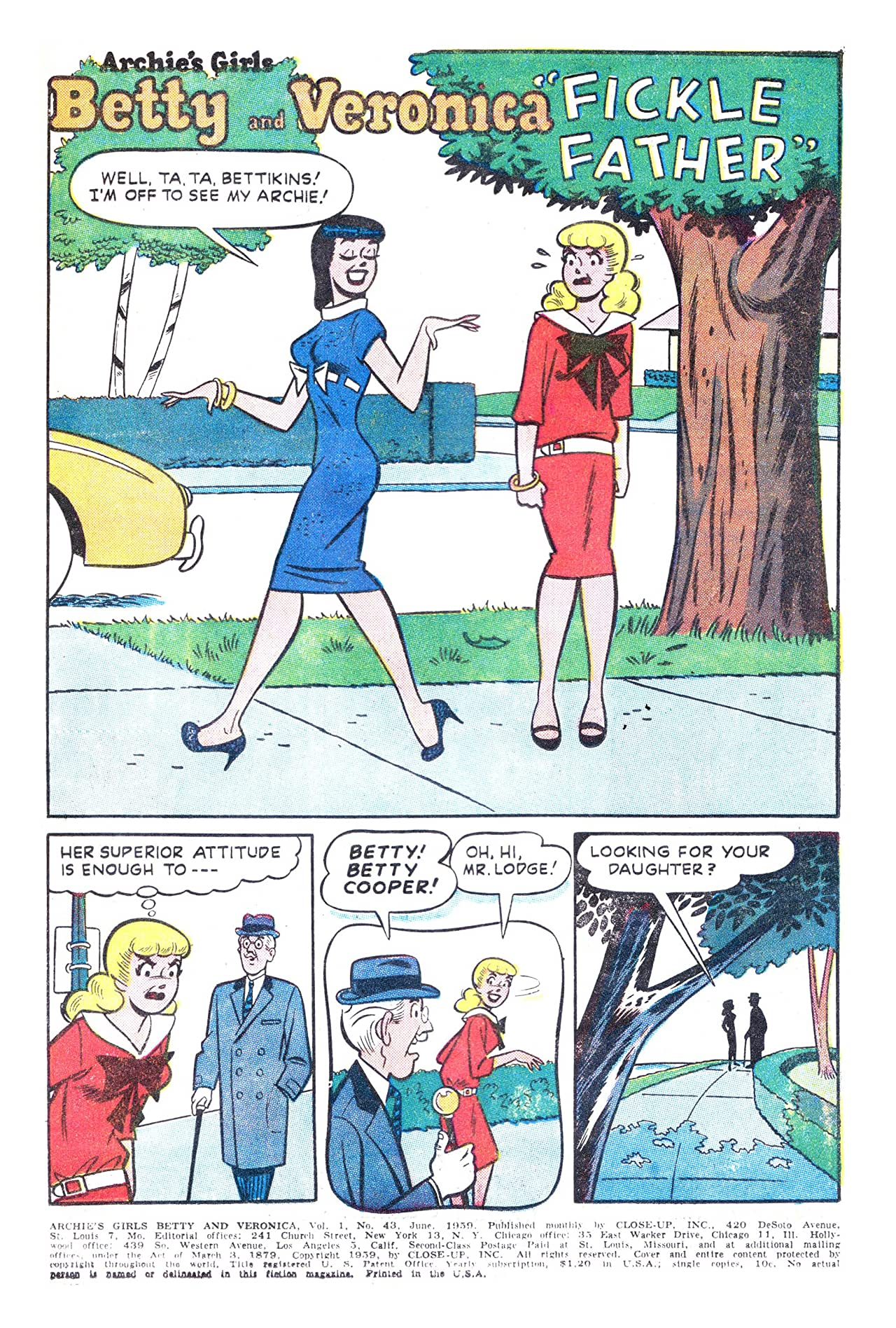 Archie's Girls Betty & Veronica #43