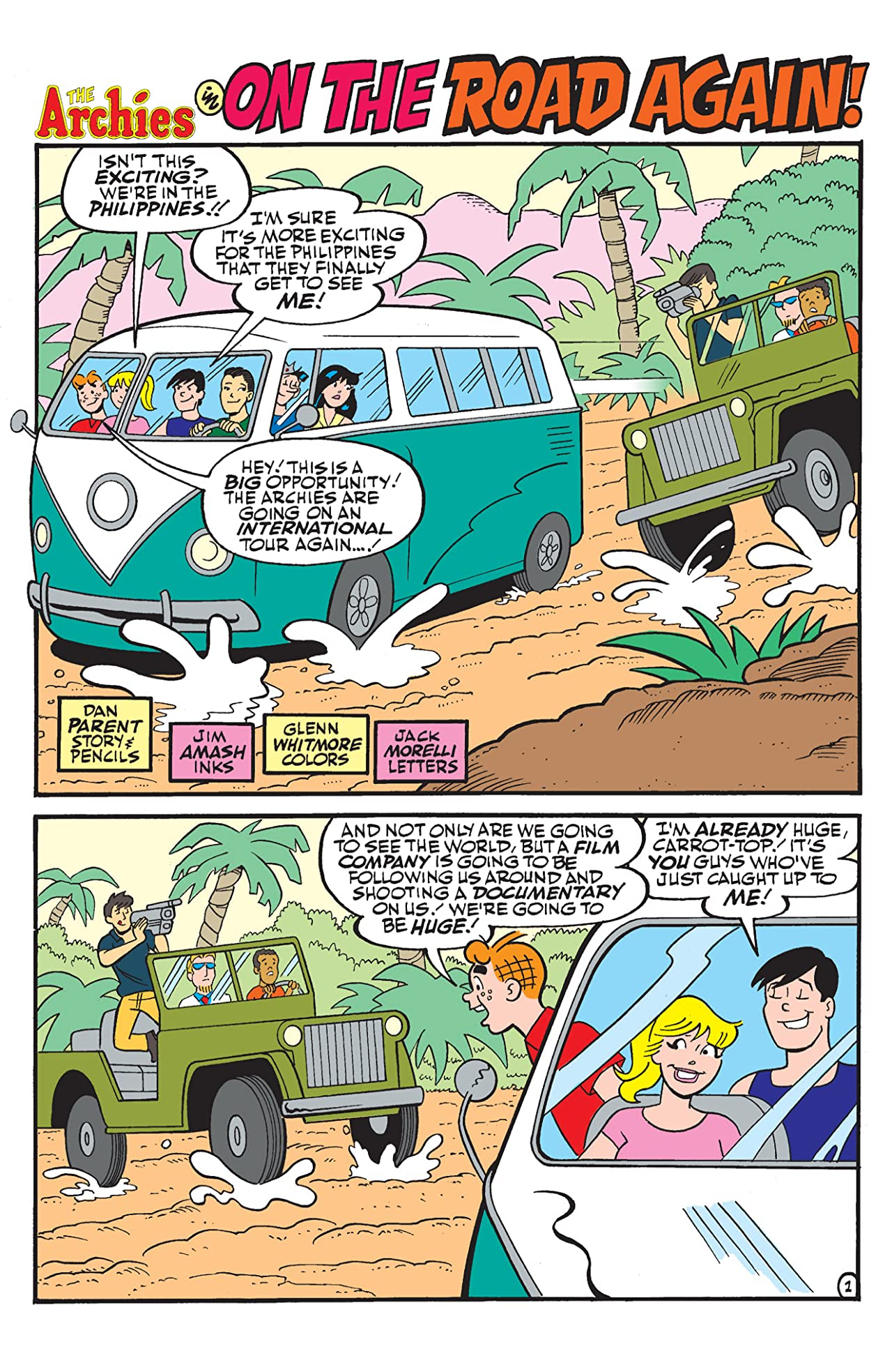 Archie & Friends: Travel #1
