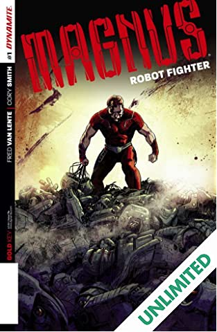 Magnus: Robot Fighter #1: Digital Exclusive Edition