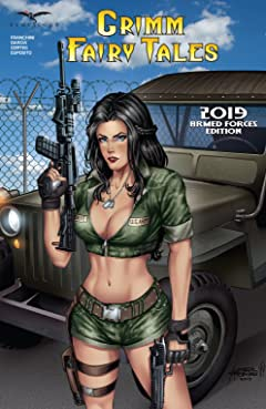 Grimm Fairy Tales 2019 Armed Forces Edition #1