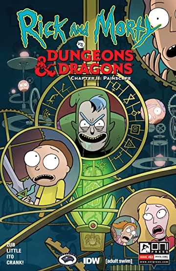Rick and Morty vs. Dungeons & Dragons II #3: Painscape