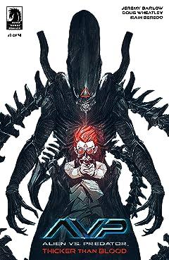 Alien vs. Predator: Thicker Than Blood No.1