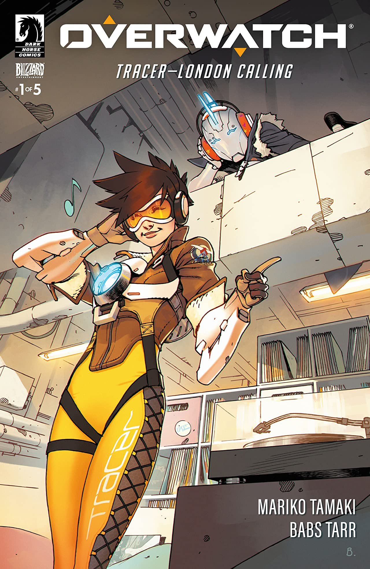 Overwatch: Tracer — London Calling No.1