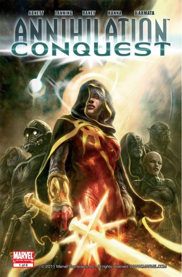 Annihilation: Conquest #1 (of 6)