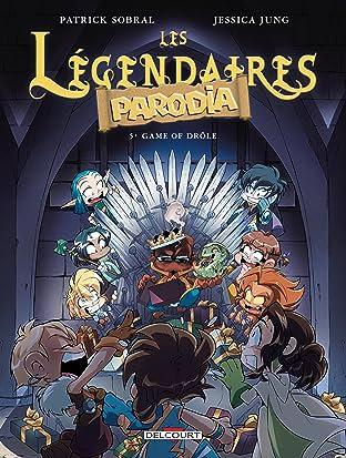 Les Légendaires – Parodia Vol. 5: Game of drôle