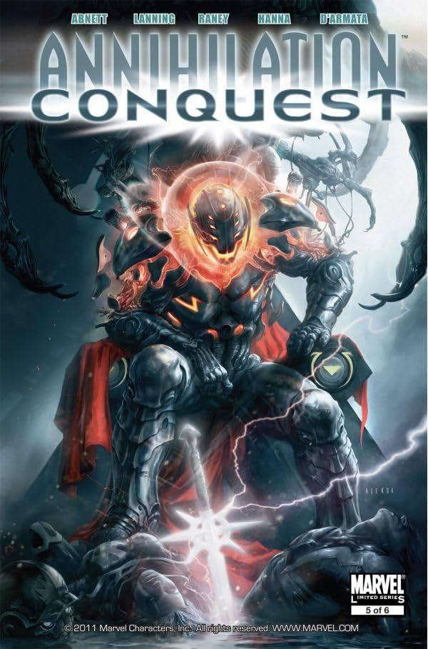Annihilation: Conquest No.5 (sur 6)