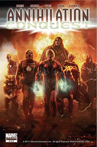 Annihilation: Conquest #6 (of 6)