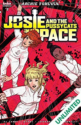 Josie and the Pussycats in Space (comiXology Originals) #2 (of 5)