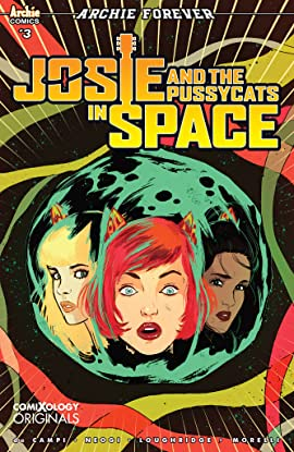 Josie and the Pussycats in Space (comiXology Originals) #3 (of 5)