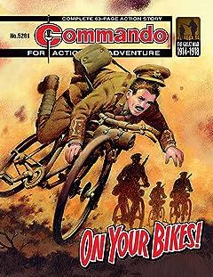 Commando #5281: On Your Bikes!
