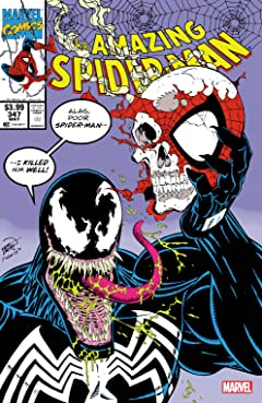 Amazing Spider-Man (1963-1998) #347: Facsimile Edition
