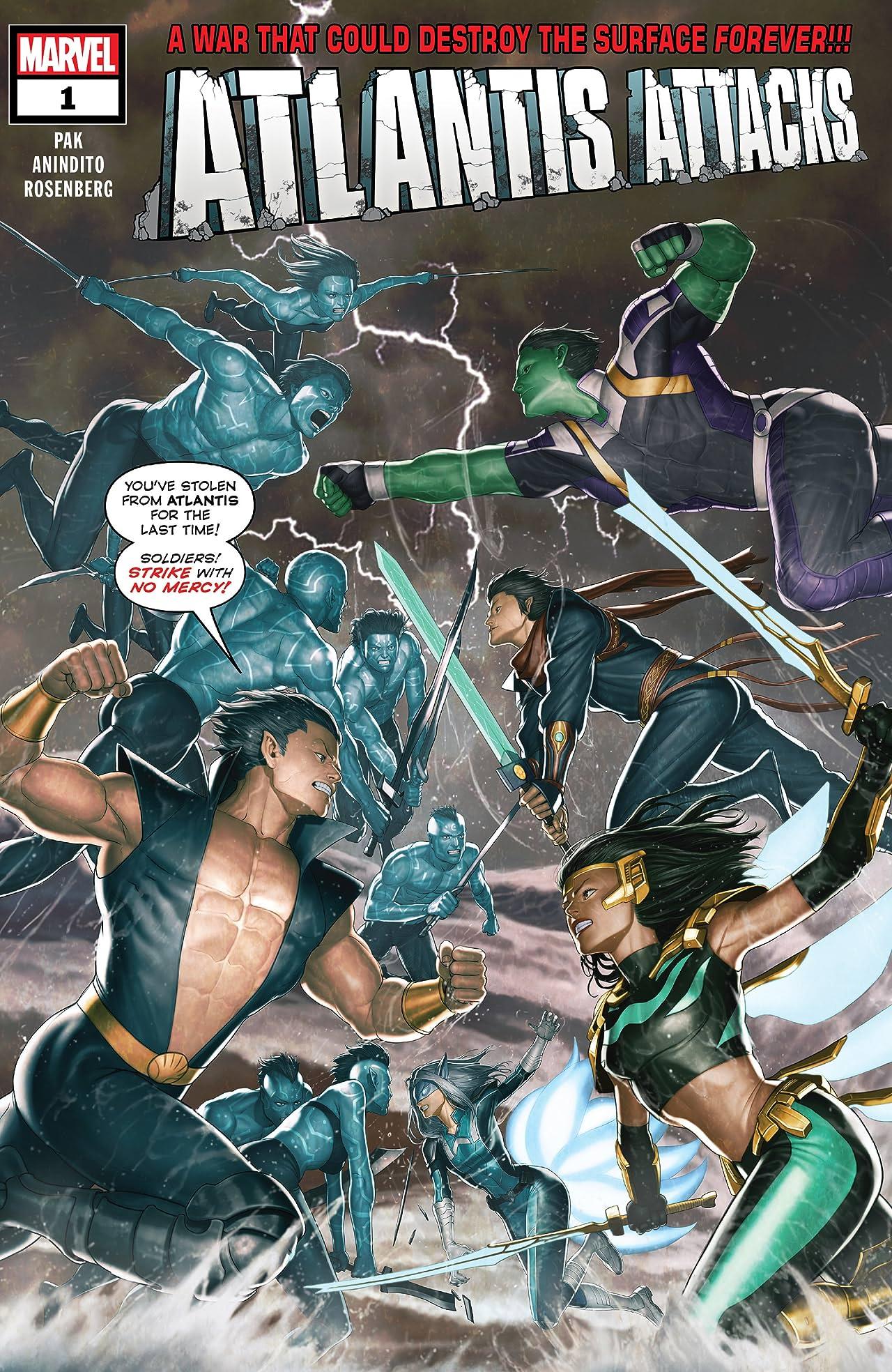 Atlantis Attacks (2020) No.1 (sur 5)