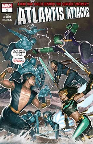 Atlantis Attacks (2020) #1 (of 5)