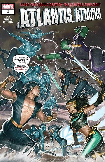 Atlantis Attacks (2020) #1 (of 5)