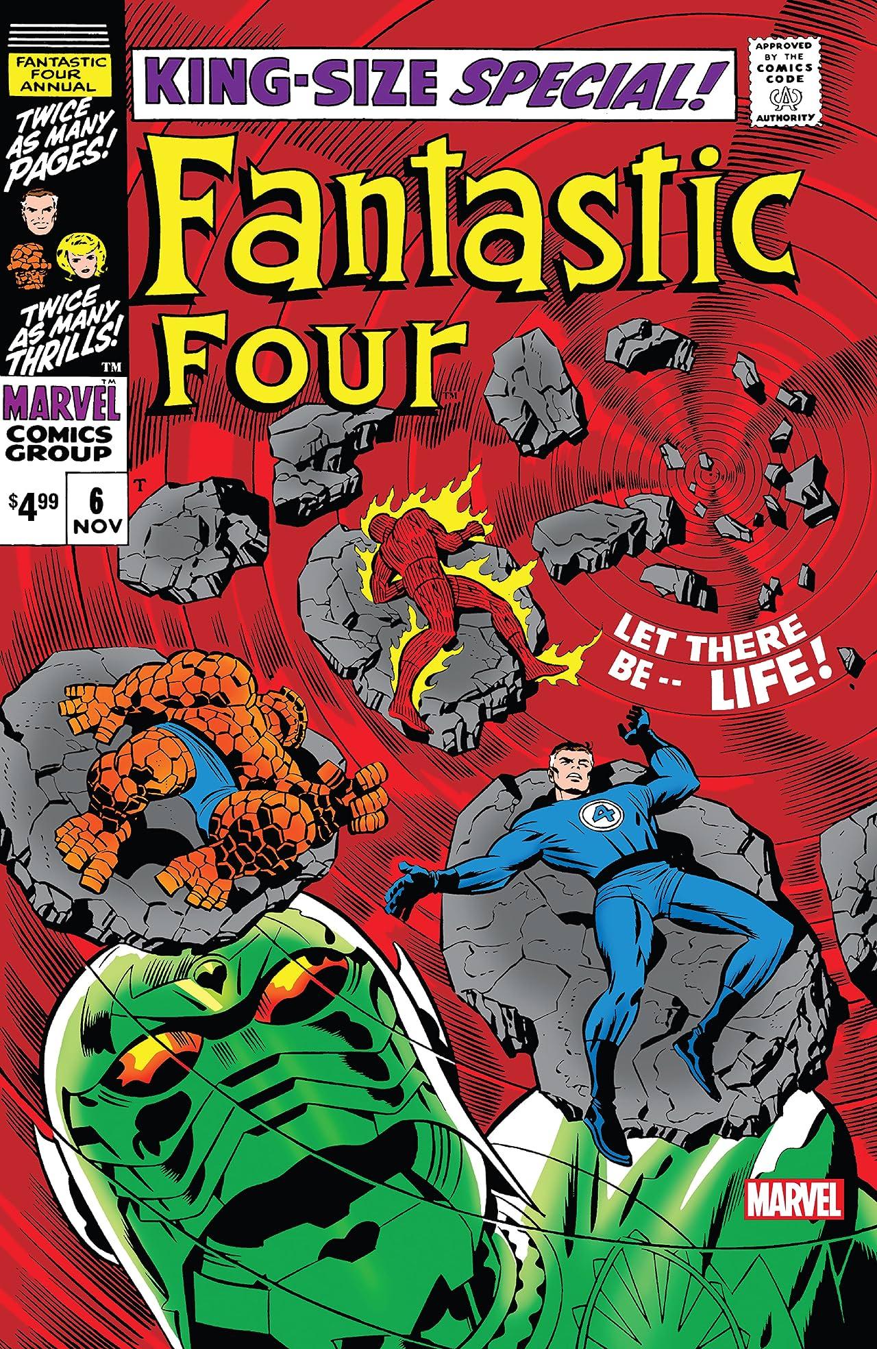 Fantastic Four (1961-1998) Annual #6: Facsimile Edition