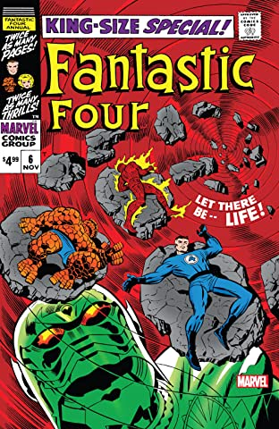 Fantastic Four (1961-1998) Annual #6: Facsimile Edition