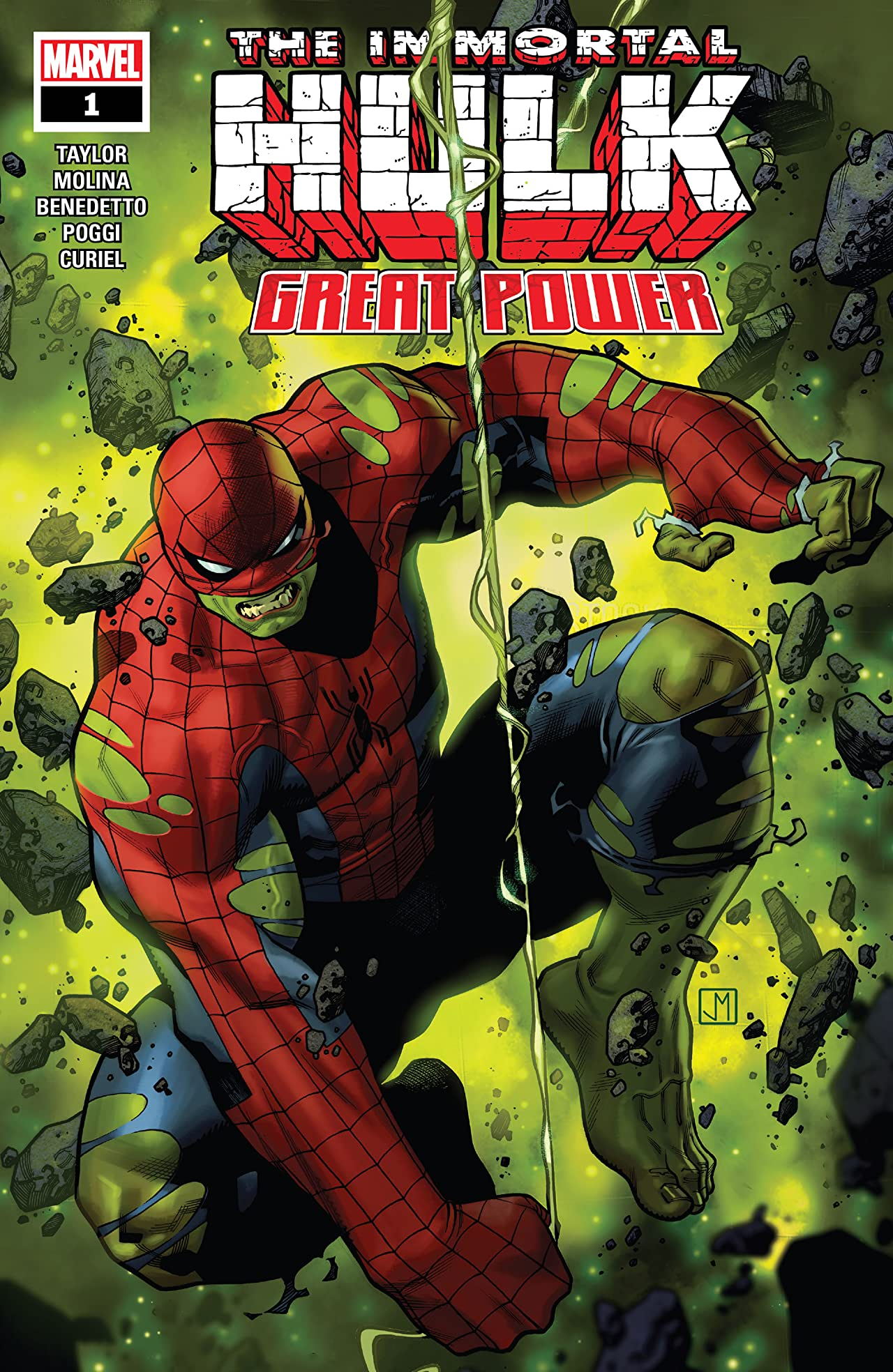 Immortal Hulk: Great Power (2020) #1